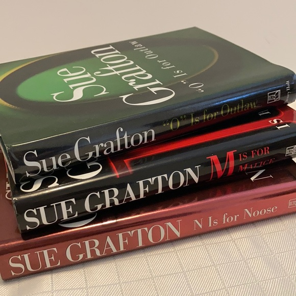 Sue Grafton books M, N, O mystery books hardcover
